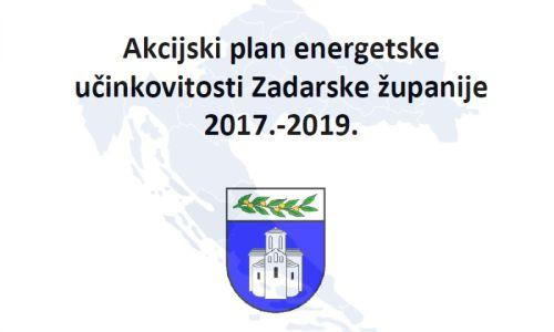 Akcijski plan energetske učinkoviosti Zadarske županije 2017. - 2019.